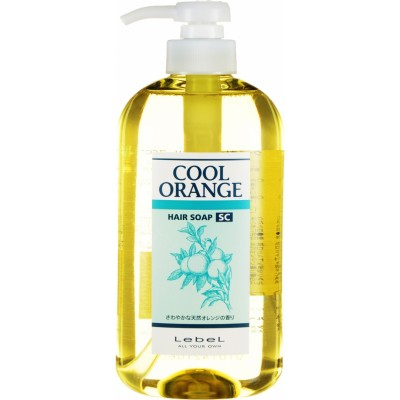 Lebel Cool Orannge SC Шампунь для профилактики выпадения волос, от себореи, нормализует работу сальных желез 600 мл