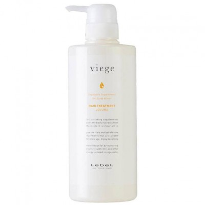 Lebel Viege Treatment Volume Маска для объёма волос  600 мл