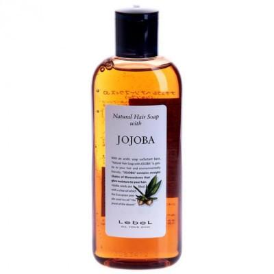 Lebel Jojoba Шампунь для сухих, поврежденных, нарощенных волос 240 мл