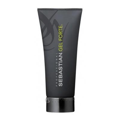 Sebastian Gel Forte Гель эластичный с микрокристаллами для волос сильной фиксации 200 мл