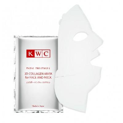 KWC Коллагеновая 3D-маска для лица и шеи 1 шт