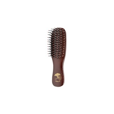 I LOVE MY HAIR Щётка деревянная, вишнёвая XS