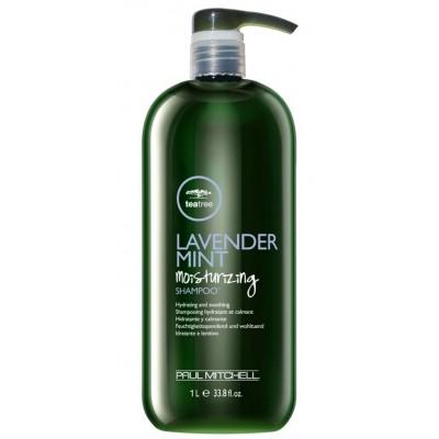 Paul Mitchel Lavender Mint Moisturizing Shampoo Увлажняющий шампунь с лавандой и мятой 1000 мл