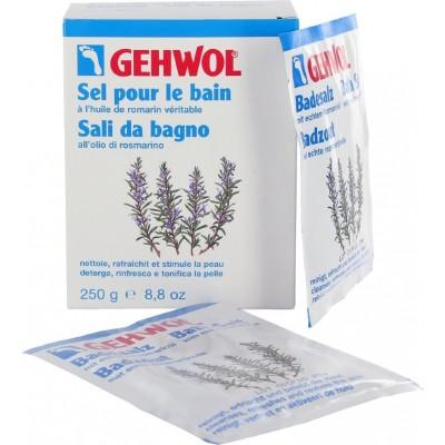 Gehwol Badesalz Соль для ванны с Розмарином для уставших ног, стимулирует кровообращение, подходит для тела 20 гр 1 пакетик