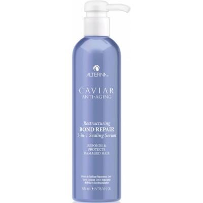 Alterna CAVIAR Alterna Уплотняющая сыворотка - регенерация тройного действия для восстановления повреждённых волос