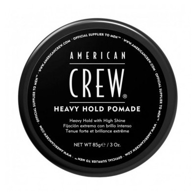 American CREW Heavy Hold Pomade Помада сильной фиксации с блеском 85 мл