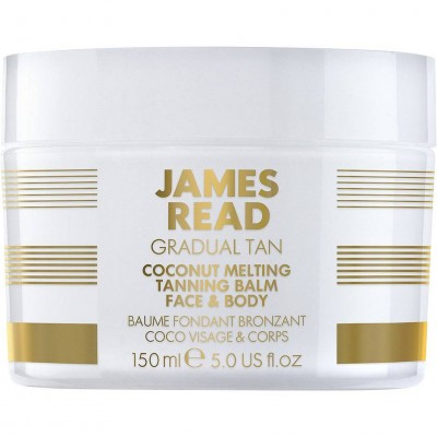 James Read Coconut Melting Tanning Balm Бальзам кокосовый с эффектом загара для лица и тела 150 мл