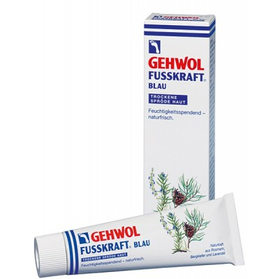 Gehwol Fusskraft Голубой бальзам для очень сухой, грубой кожи стоп 125 мл