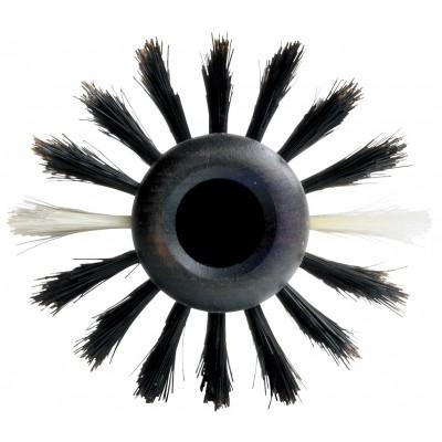 Y.S.PARK Брашинг натуральная щетина кабана, антистатическое покрытие карбон