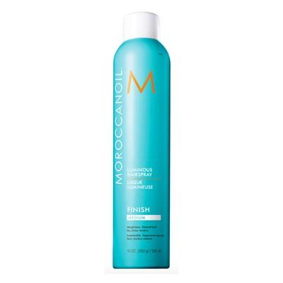 Moroccanoil Luminous/ Finish Medium Лак сияющий для волос эластичной фиксации 330 мл