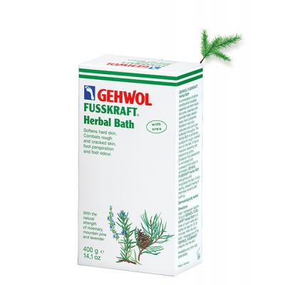 Gehwol Fusskraft Травяная ванна с эфирными маслами и мочевиной, нормализует потоотделение 20 гр в 1 пакетике