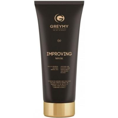Greymy Improving mask Маска интенсивно восстанавливающая для повреждённых, окрашенных волос  200 мл