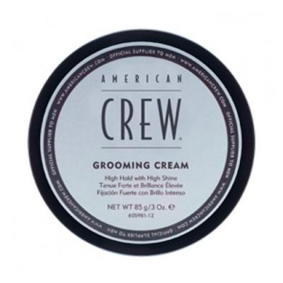 American CREW Крем сильной фиксации с высоким уровнем блеска для укладки волос и усов 85 мл