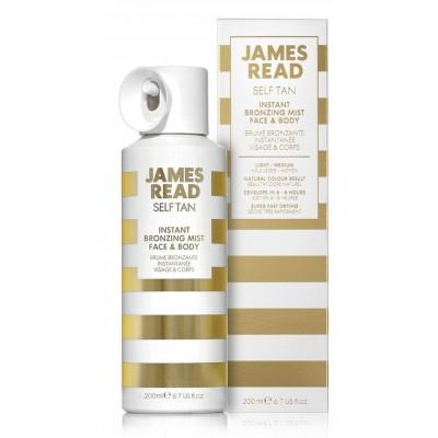 JAMES READ Instant Bronzing Mist Face&Body Спрей-автозагар для лица и тела 200 мл