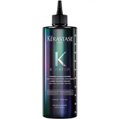 Kerastase K-WATER Ламеллярный уход сглаживает волокно на самых поврежденных волосах и придаёт блеск  400 мл