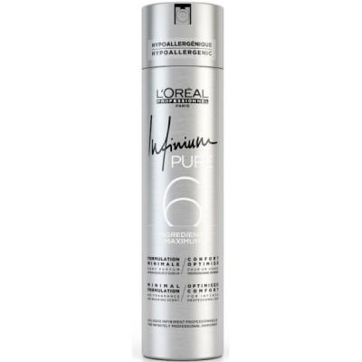 L'Oreal Infinium Pure Лак сильной фиксации без запаха 500 мл Strong