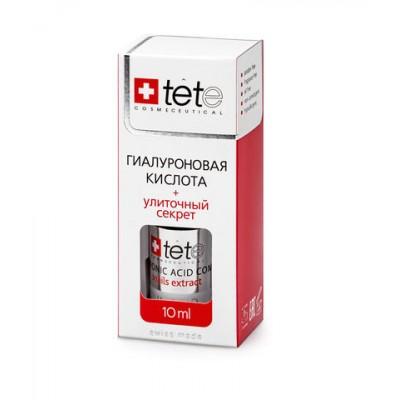 tete MINI-Лосьон гиалуроновая кислота+Улиточный секрет 10мл