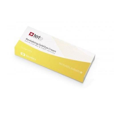tete Крем омолаживающий для ВЕК с коллоидным золотом 30мл Revitalizing Gold Eye Cream