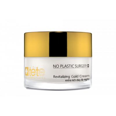tete Крем с коллоидным золотом омолаживающий 50 мл. Revitalizing Gold Cream ExtraRichDay&Night