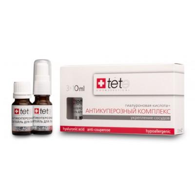 tete Лосьон гиалуроновая кислота+Антикуперозный комплекс 30мл (3*10мл) Hyaluronic Acid&Anticouperose