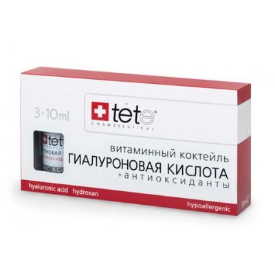 tete Лосьон гиалуроновая кислота+Антиоксиданты 30мл (3*10мл) Hyaluronic Acid&Antioxydants