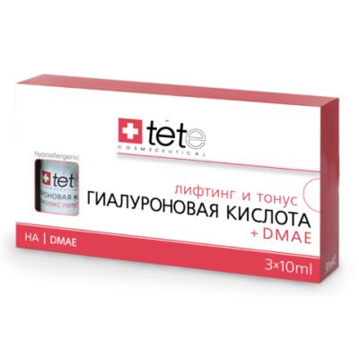 tete Лосьон гиалуроновая кислота+ДМАЭ 30мл (3*10мл) Hyaluronic Acid&DMAE