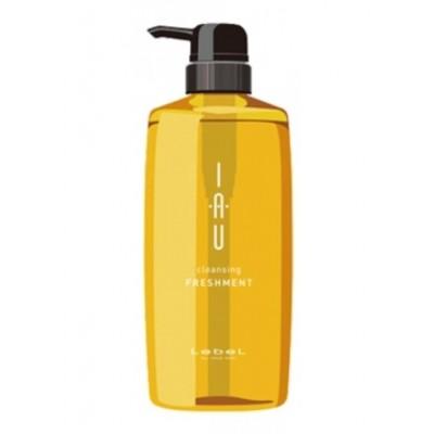Lebel IAU Аромашампунь освежающий глубокой очистки для всех типов кожи 600 мл Freshment