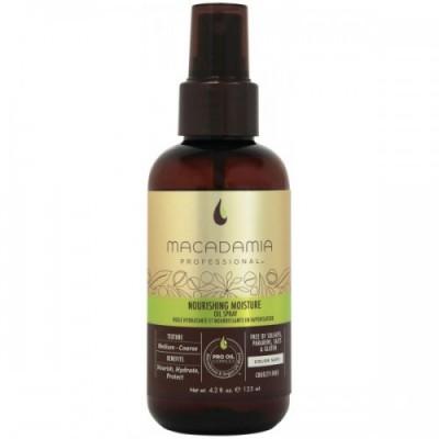 Macadamia Уход масло-спрей  увлажняющее Nourishing Moisture Oi Spray (125 мл)