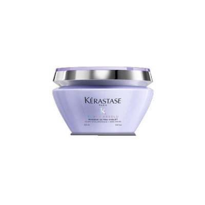 Kerastase Blond Absolu Ultra-Violet Маска питательная анти - желтая для осветленных, мелированных волос 200 мл