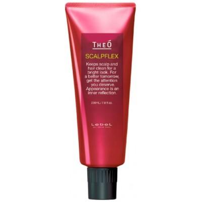 Lebel Очиститель-пилинг за волосами, кожей головы и бородой THEO SCALPFLEX 230 мл