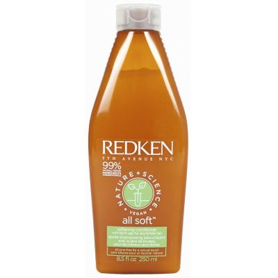 REDKEN Vegan All Soft Кондиционер питание и смягчение сухих волос с березовым соком 250 мл