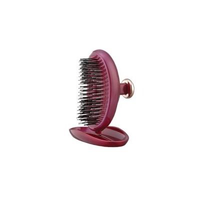 Щётка S-Heart-S Scalp Brush Palm (королевский розовый цвет)