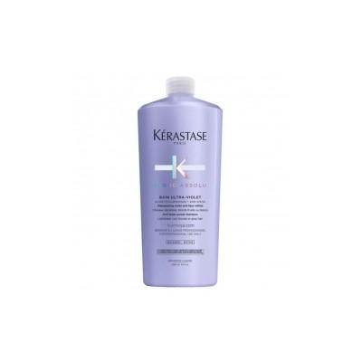 Kerastase Blond Absolu Ultra-Violet Шампунь антижелтый  для осветленных, мелированных волос 1000 мл