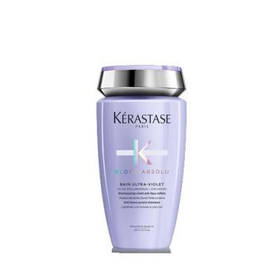 Kerastase Blond Absolu Ultra-Violet Шампунь антижелтый  для осветленных, мелированных волос 250 мл