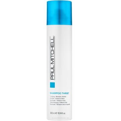 Paul Mitcell Shampoo Three Очищающий шампунь для любого типа волос 300 мл