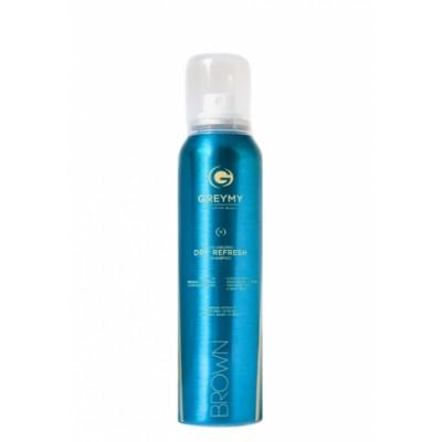 Greymy Volumizing Dry Refresh Shampoo-Brown Сухой шампунь для темных  волос 150 мл