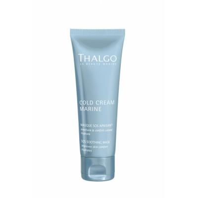 Thalgo Успокаивающая SOS-маска для гиперчувствительной кожи лица за 10 минут 50 мл Cold Creame Marine