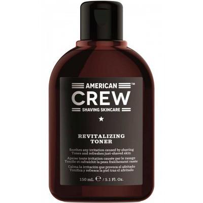 American CREW Тонер успокаивающий, освежающий после бритья 150 мл Revitalizing Toner