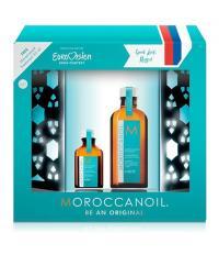 Moroccanoil Набор Масло восстанавливающее для тонких волос Light 100 мл + Масло восстанавливающее для тонких волос Light 25 мл