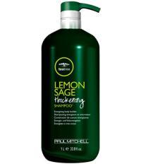 Paul Mitchell Lemon SageThickening Шампунь с маслом чайного дерева, экстрактом шалфея и лимона 1000 мл