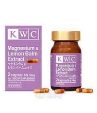 KWC Magnesium & Lemon Balm Extract  Магний и Экстракт Мелисcы №60