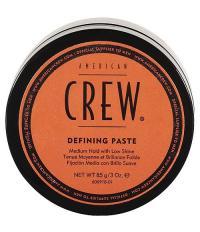 American CREW Defining Paste Паста средней фиксацией с низким уровнем блеска для укладки волос 85 гр