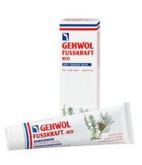 Gehwol Fusskraft Красный  бальзам для сухой кожи, согревающий, с ланолином, антигрибковый эффект 125 мл