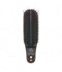 Щётка S-Heart-S Scalp Brush Kom коричневая (жесткая)