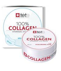 tete Патчи Гидроколлагеновые для глаз с гиалуроновой кислотой 100% 60шт. Collagen Hydrogel Eye Patch