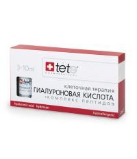 tete Лосьон гиалуроновая кислота+Комплекс пептидов 30мл (3*10мл) Hyaluronic Acid&Peptides