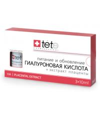 tete Лосьон гиалуроновая кислота+Экстракт Плаценты 30мл (3*10мл) Hyaluronic Acid&Placental Extract