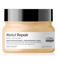 L'Oreal Expert 2021 Absolut Repair Gold Маска-крем для очень поврежденных волос, восстанавливающая 250 мл