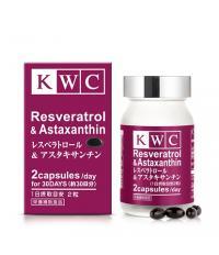 KWC Ресвератрол и астаксантин №60