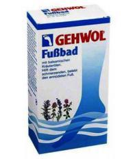 Gehwol FuBbad Ванна для ног смягчающая мозоли и натоптыши с эфирными маслами 1 пакет